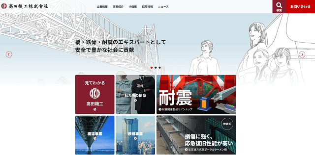 高田機工(5923)-TOP