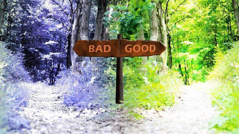 「good」と「bad」の分かれ道